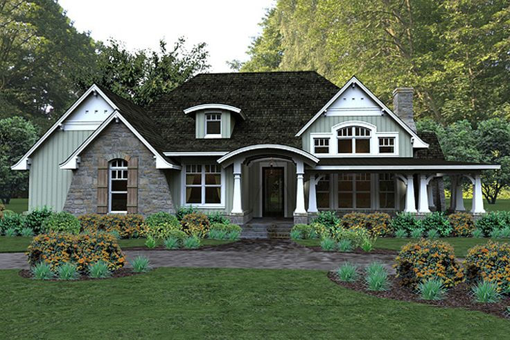 Plan 120 181 dream homes pinterest for Houseplans com craftsman