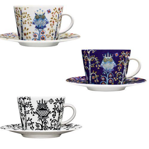 ittala Taika Coffee Cup and Saucer $42.00 each