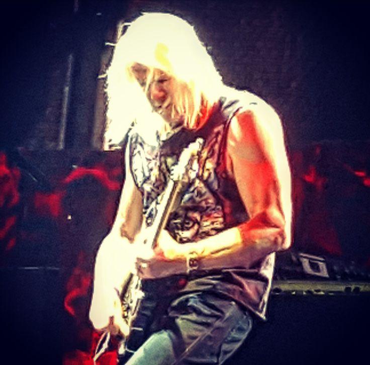 Steve Morse of Deep Purple last night in Bucharest