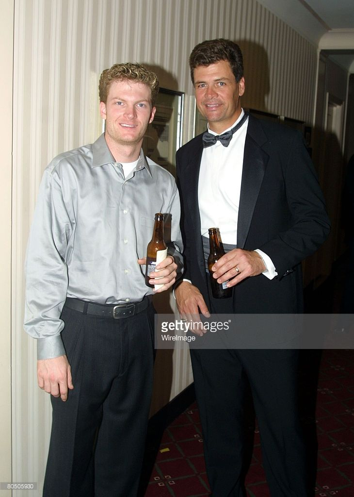 Dale Earnhardt Jr with Michael Waltrip