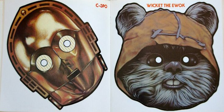 C 3po And Wicket Ewok Masks Free Masks Be Anyone Or