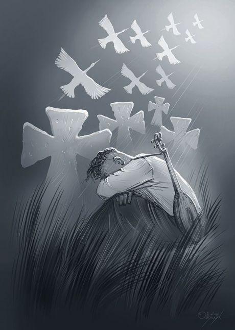 Ukrainian artist. Олег Шупляк - Журба / Oleg Shuplyak - Sadness