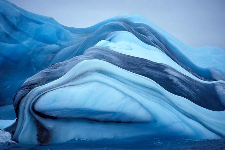 """""""Marbled Iceberg"""", posted by fuzzy blue one.  (picasaweb - Pixdaus)"""