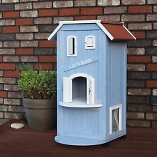 Cat Tree Condos For Large Cats And Towers Houses Indoor Activity Center 3 Story