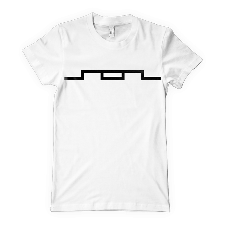Line Logo T-Shirt (White)   $24.99