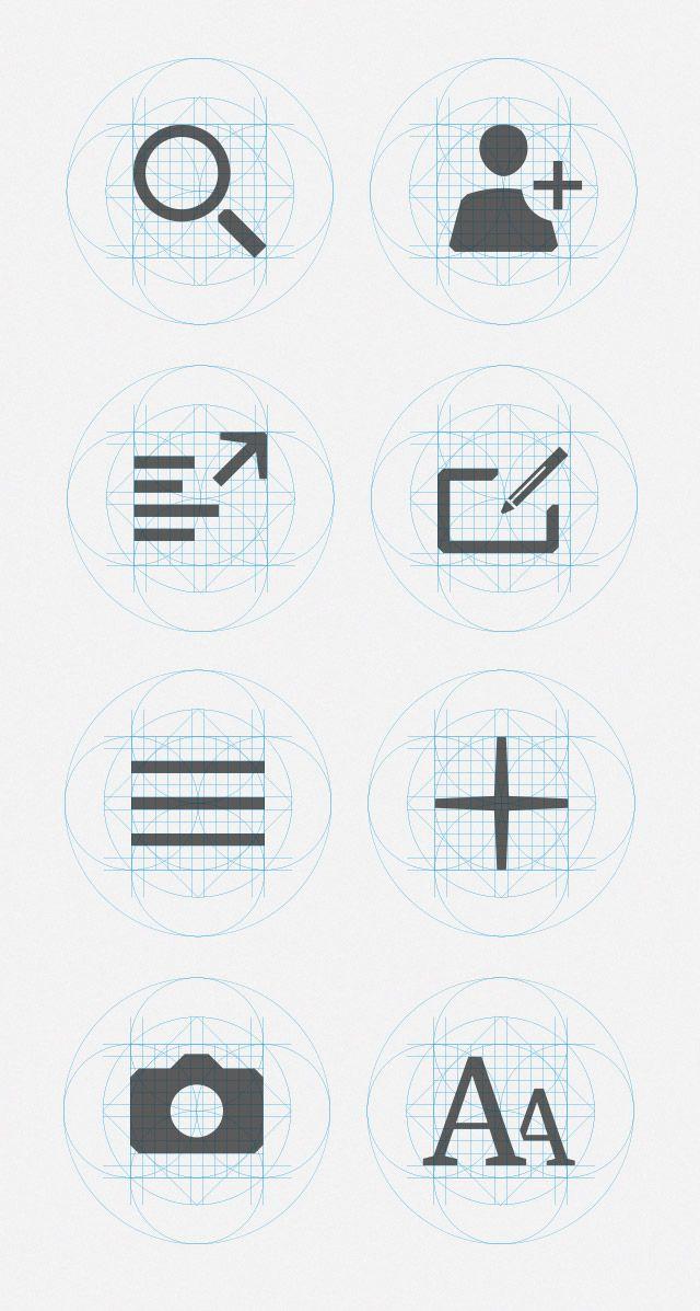 Territory Studio - Design - The Guardian Iconography