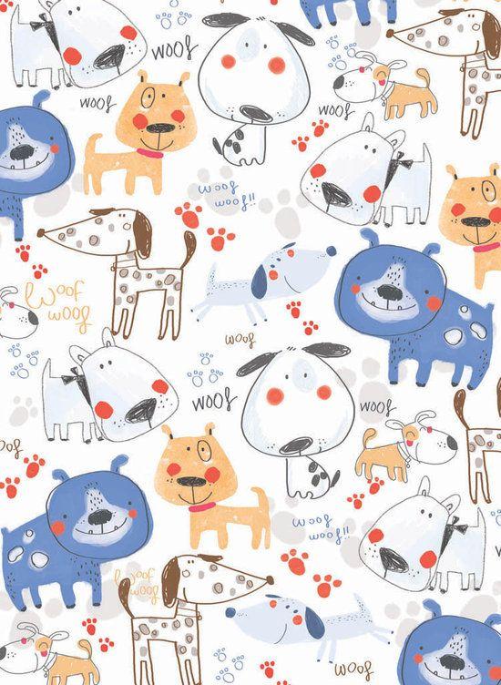 pattern perros Sigrid Martinez