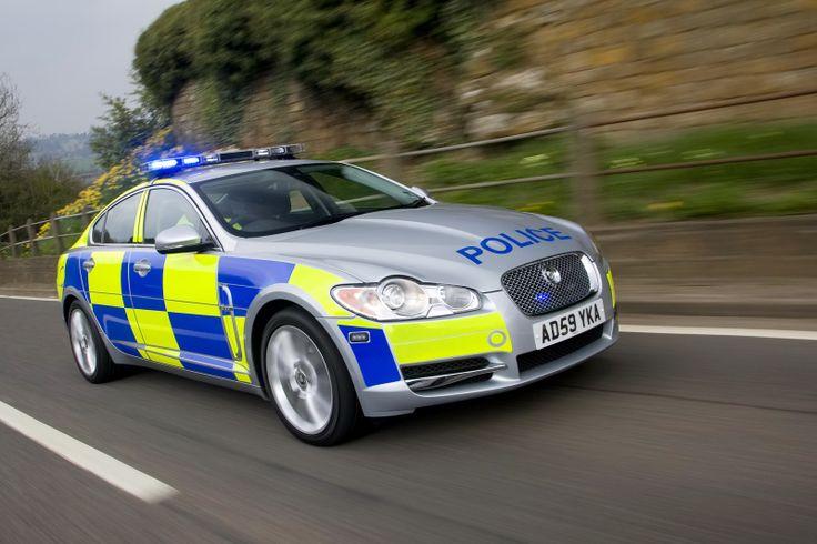 Jaguar Police car UK