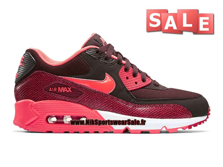 Nike Air Max 90 - Chaussures Nike Sportswear Sale Pour Homme Rouge sportif/Rouge…