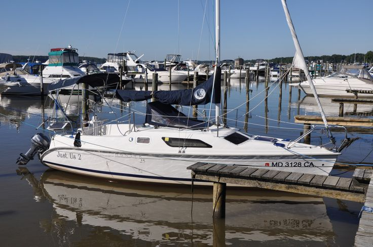 25 Hunter Sailboat for Sale | Sailing Yachts | Just Us 2 | Curtis Stokes Yacht brokers
