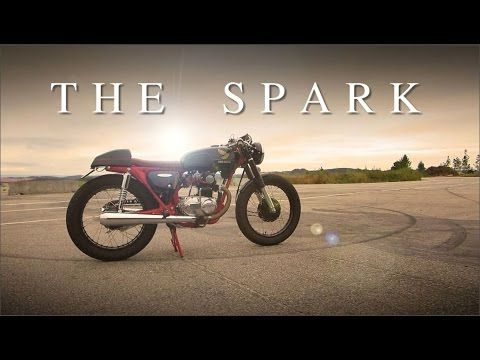 "Cafe Racer (Honda CB 125 - ""The Spark"" of 50.000 Subscribers) - YouTube"