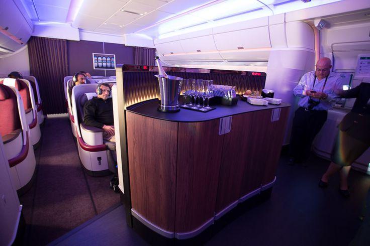 qatar a350 entry interior - Google Search