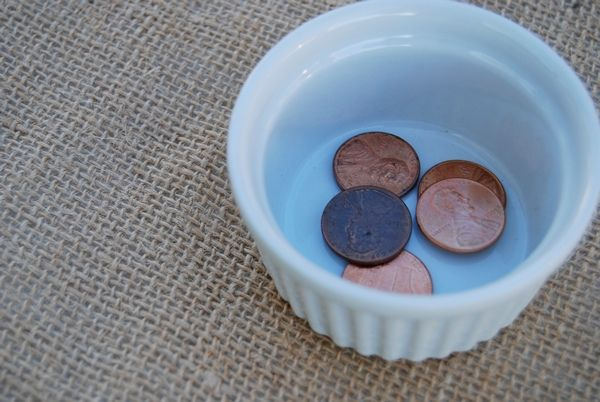 5 Pennies Game- Easy game to review manners at the dinner table with your kids