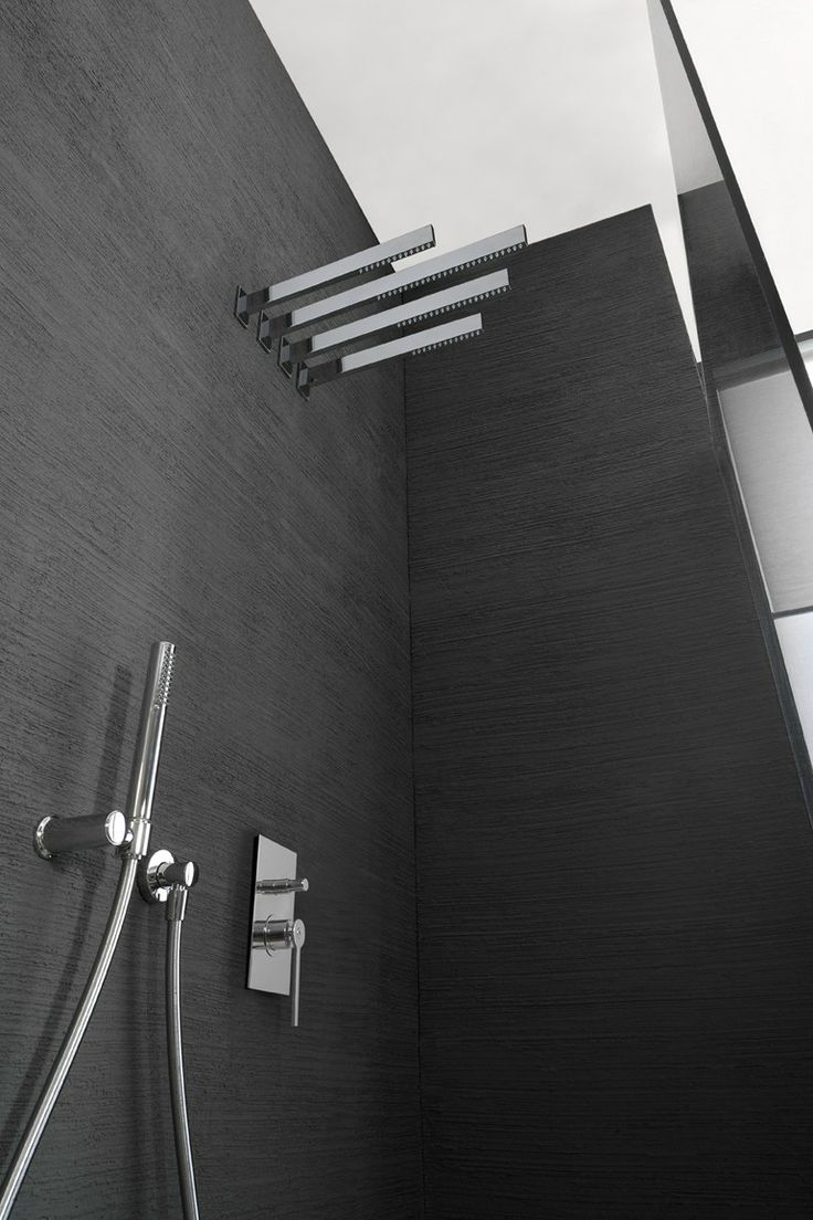 Marco Pisati for Rubinetti 3M | TIME OUT wall mount shower