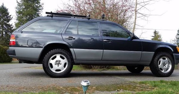 Lifted 1991 Mercedes 300TE 4matic Wagon Found For Sale On Craigslist #Craigslist…