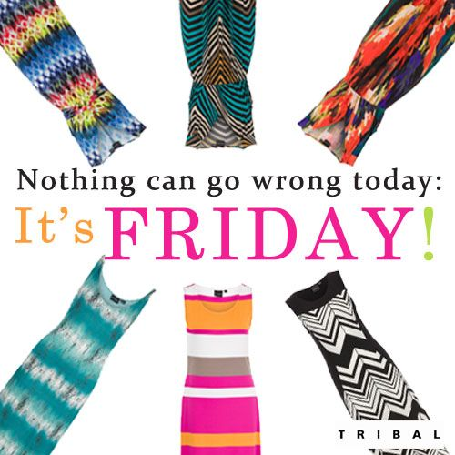 #FRIDAY #TGIF #summerdresses #tribalsportswear