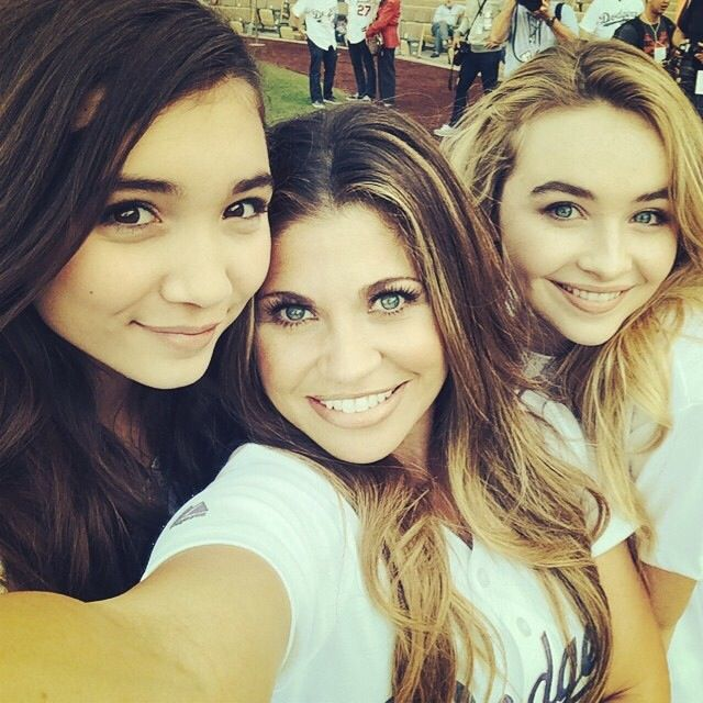 Rowan and Sabrina with Danielle
