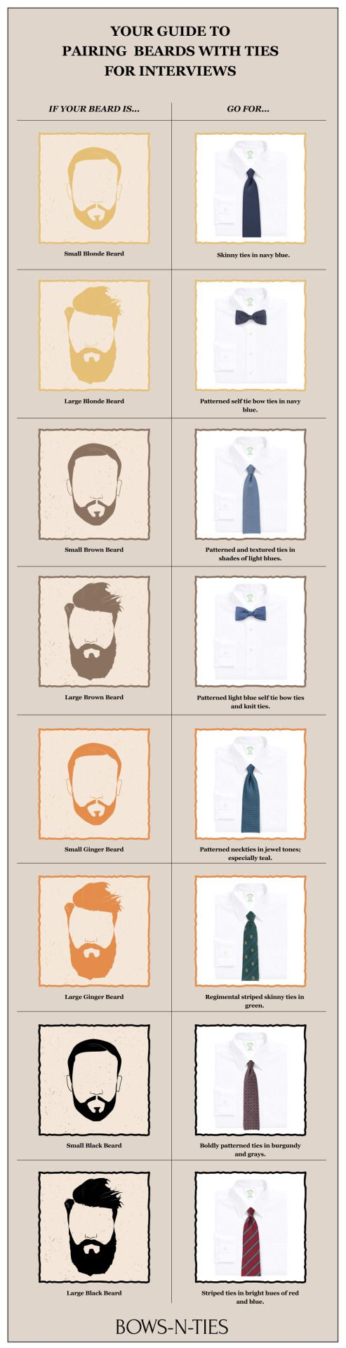 Tips on how to accessorize for your beard type and color.