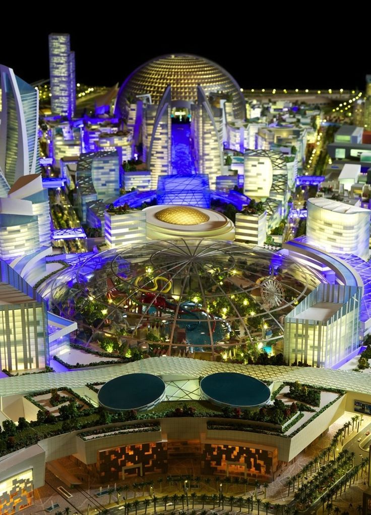 Dubai, Biggest Mall On The Planet