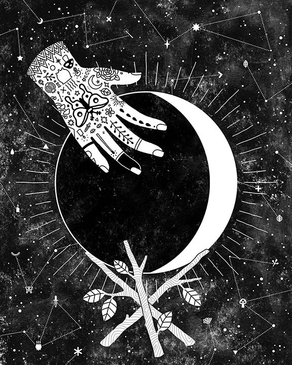 294 Best The Moon Images On Pinterest Astrology Aquarius Blue