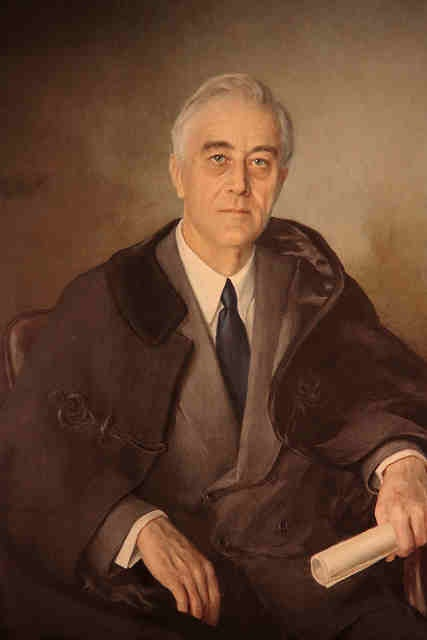 Franklin Delano Roosevelt (D32) was only the president to preside more than 2 terms in office. He authored the New Deal and guided the US, if not the world, past the threats of WWII. He was a distant cousin of Theodore Roosevelt.