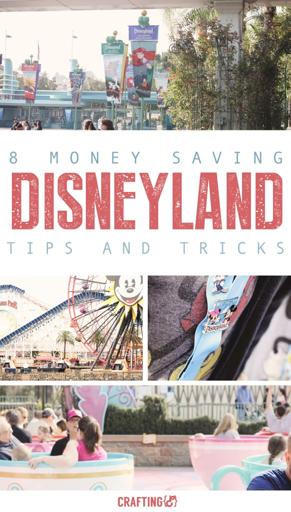 8 great Disneyland money-saving tips. Save money on your family vacation so you can afford to do more!