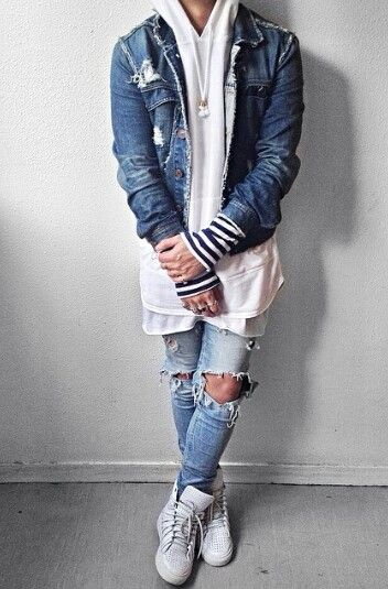 Urban/street fashion, mens wear;