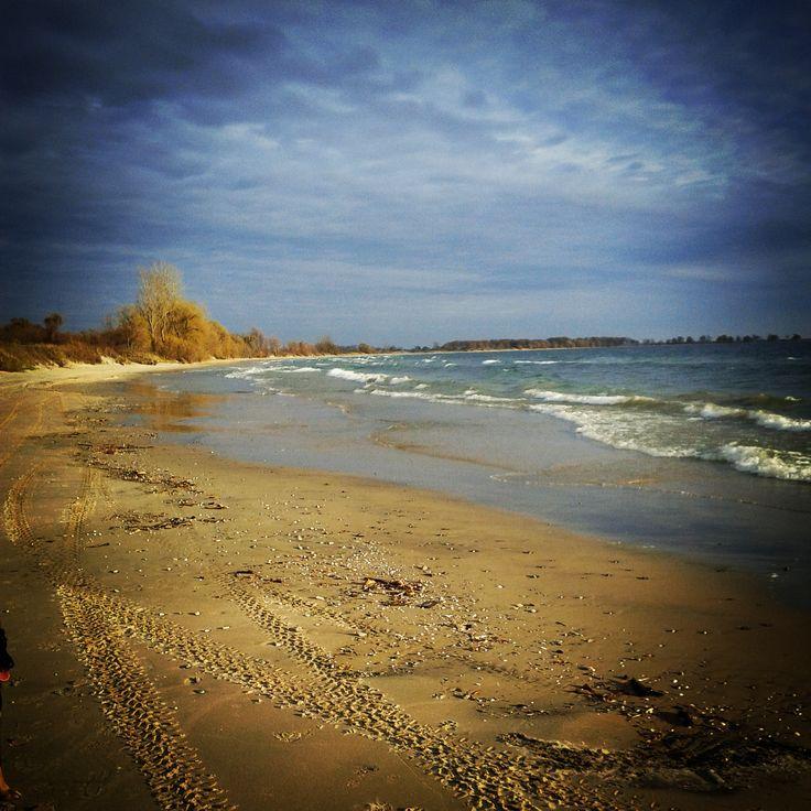 Beautiful Wolfe Island, ON - The beach @ Big Sandy Bay