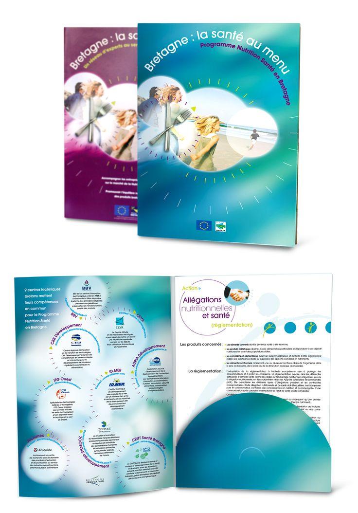 Ultra-book de canographie Portfolio : brochure, plaquettes...