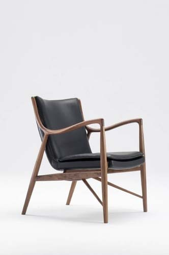 """Finn Juhl """"45"""" chair"""