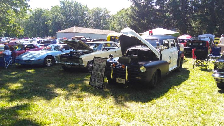 1948 North Carolina Sheriff Car at the Niagara-on-the-lake Car show