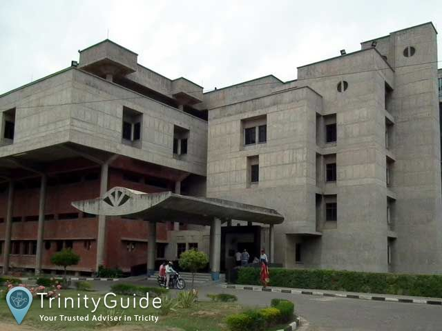 Founded by Tulsi Das, Santokh Singh Anand, P N Chuttani, B N Aikat, Sant Ram Dhall and Bala Krishna, PGI is top medical and research institution in Chandigarh. It provides medical research and training, and educational facilities for its students.  #PGI #MedicalandResearchInstitution #Chandigarh #Trinity