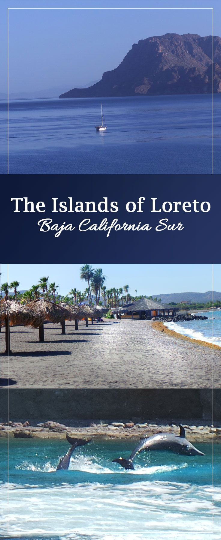 Islands of Loreto in Baja California Mexico is a beautiful vacation for families and adults.  Beautiful beaches and private islands, see dolphins and snorkel! Delicious food and a laid back atmosphere. Add it to your Mexico travel bucket list this year!