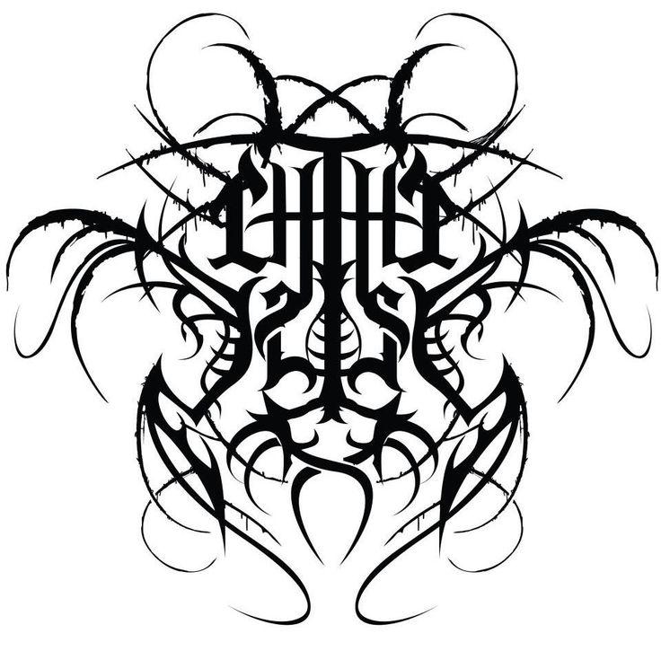 The 108 best Design ~ Metal Logos images on Pinterest | Black metal ...