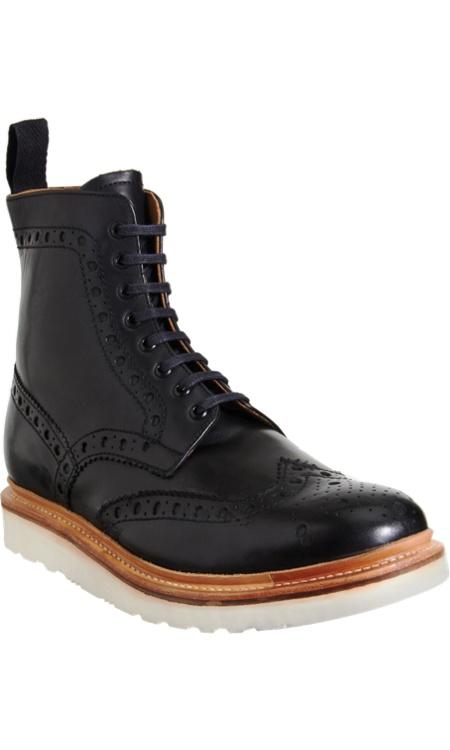 Grenson Boot. #Grenson #Brogue #Boot