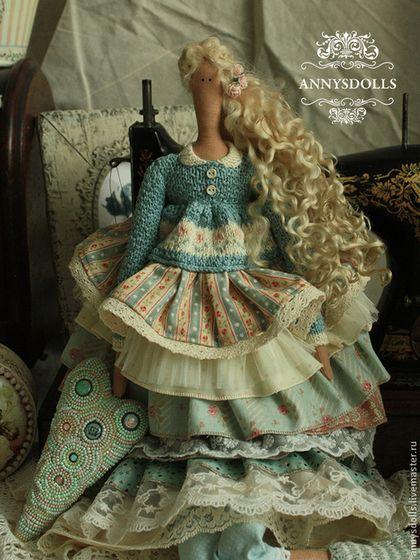 Куклы Тильды ручной работы: Даная #doll #tilda