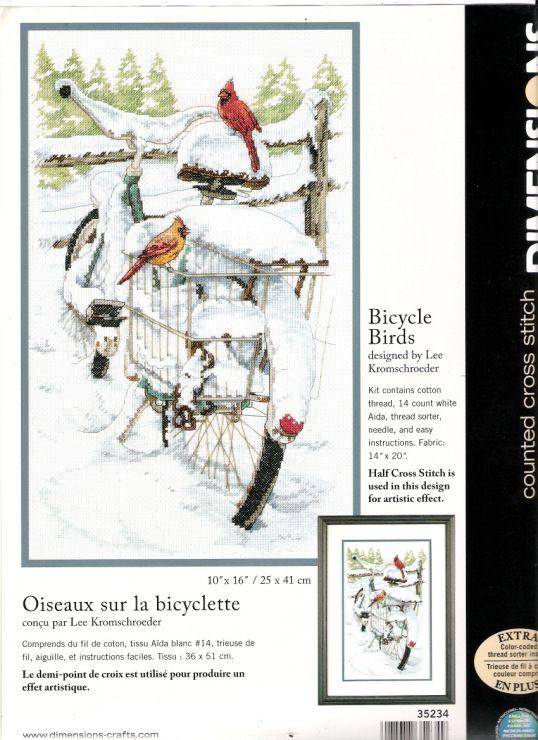 Gallery.ru / Фото #7 - DIM 35234 - Bicycle Birds - Mila65