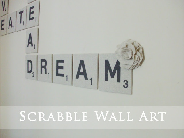 Wall scrabble. What's not to love?