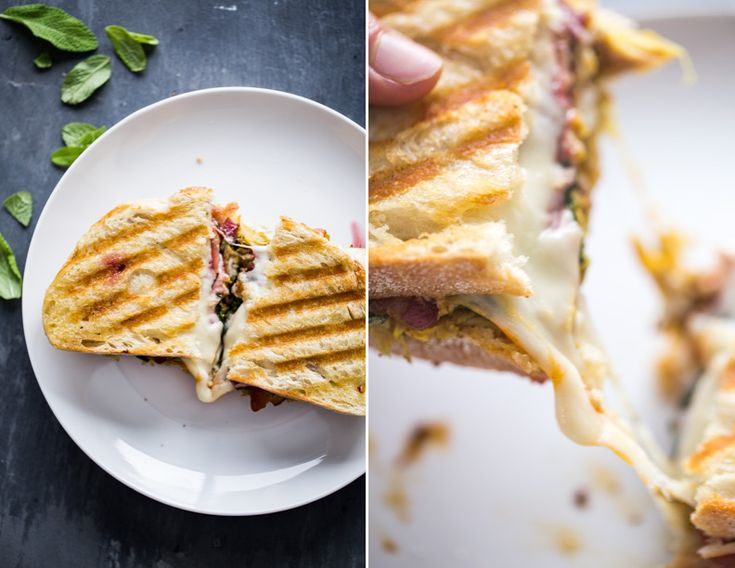 Loaded Turkey Panini for all your Thanksgiving leftovers!