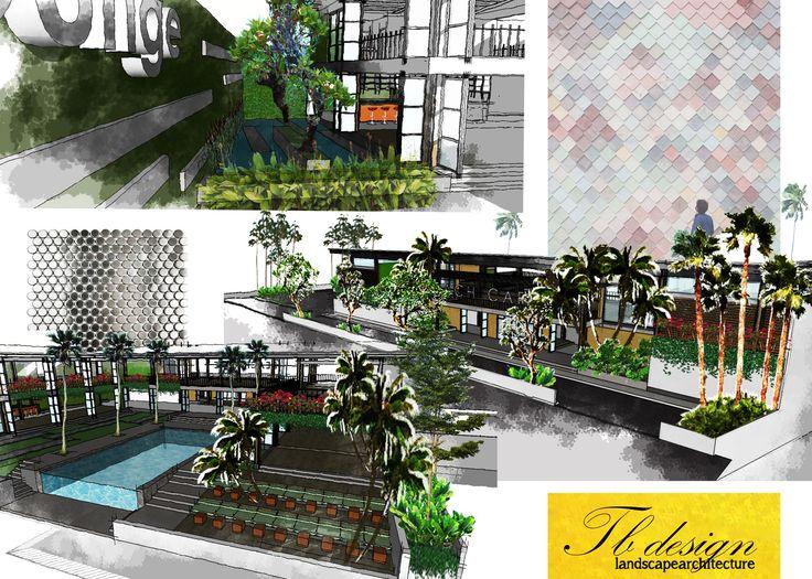 landscape design_cafe resto w/morph_kupang_indonesia