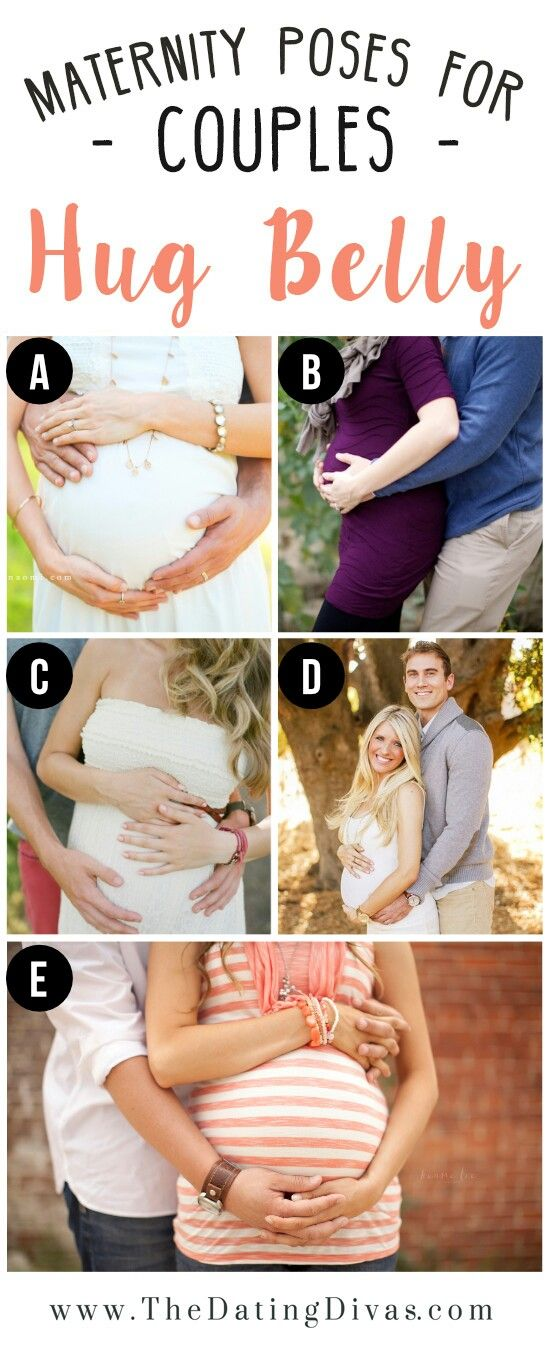 Maternity Poses for Couples | Hug Belly | Maternity Photo Ideas