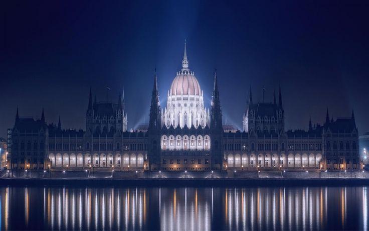 The parliament, Budapest