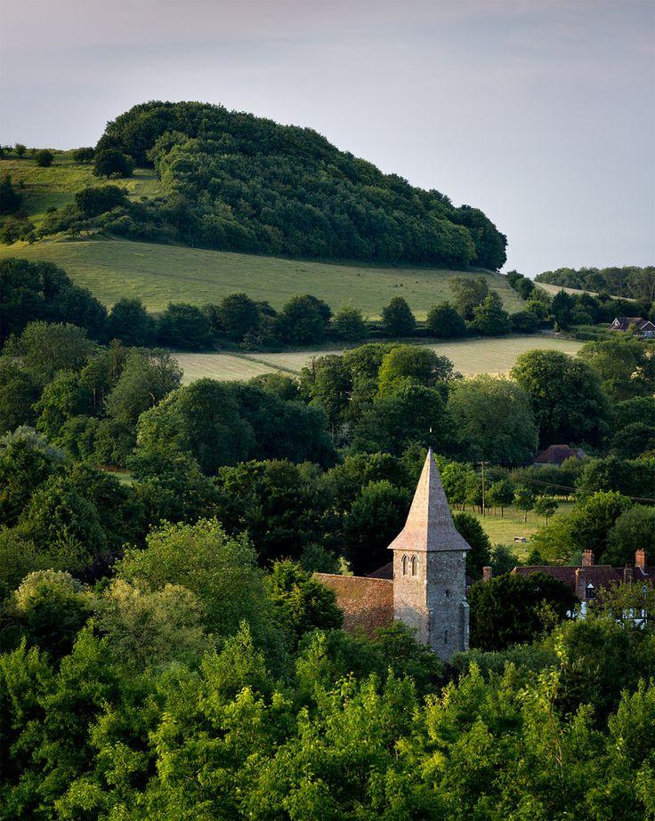 Postling, Kent, England by Stewart Mckeown