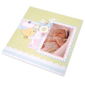 Sent From Above Baby Scrapbook Page by Debi Adams - Scrapbook.com