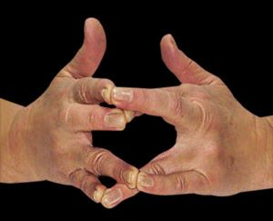 Surabhi Mudra is a very effective and powerful mudra. This type of mudra helps a `sadhak` or an aspirant practitioner to break any barriers which he may face at the time of achieving `samadhi` or the ultimate meditation. balancedwomensblog.com