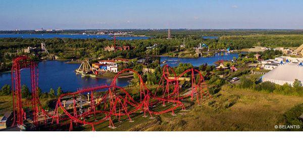 Freizeitpark Leipzig: Belantis ist der größte Freizeitpark Ostdeutschlands