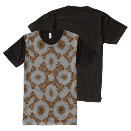 Abstract Pattern brown All-Over-Print T-Shirt - tap, personalize, buy right now!