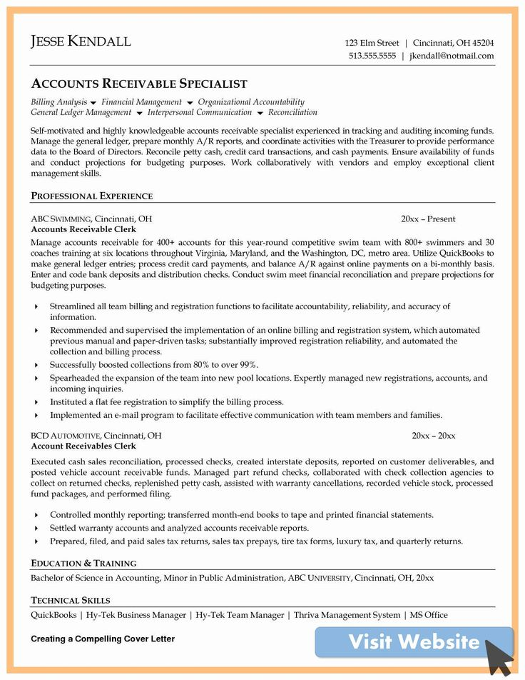 20 accounts payable manager resume in 2020 job