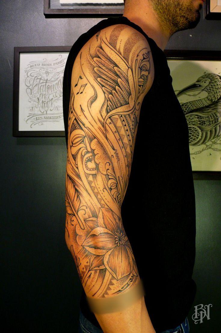 25 Best Tattoo Background Shading Images On Pinterest