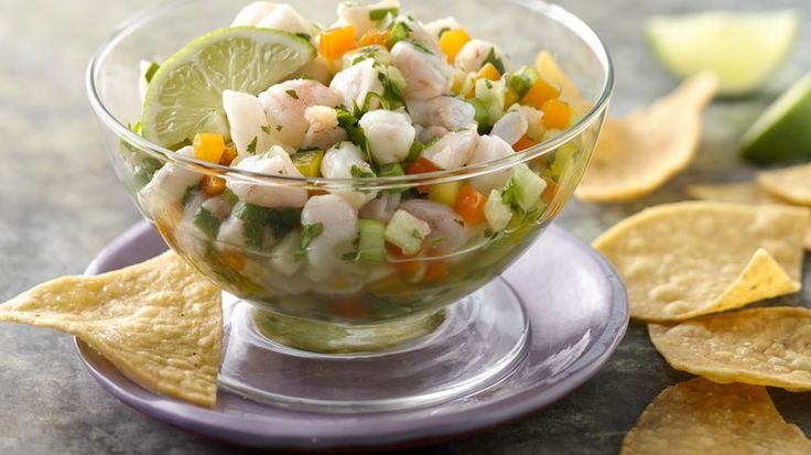 Summer is in full swing; days spent relaxing by the pool, playing with the kids at the park or hosting fun summer parties. When hosting a summer fiesta, I like to serve a tray of cold appetizers, because no one really likes to crank up the stove on a hot summer day. This is why I like to serve ceviche: shrimp soaked in citrus juice until tenderly cooked topped off with crisp vegetables and a bit of jalapeño for heat. Tuck your serving glasses in the fridge until ready to serve to keep your…